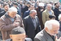 مراسم عزاداری و دستهروی بهمناسبت شهادت حضرت فاطمهزهرا(س) در شهر سورک