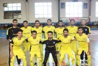 شهروندنوین سورک قهرمان نیم فصل لیگ دسته دو فوتسال کشور شد