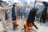حضور گسترده و پرشور مردم روزه دار میاندورود در راهپیمایی روز قدس