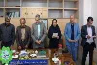 حسین طبری رئیس شورا و ابوالفضل سبک روح شهردار سورک شدند+ تصاویر