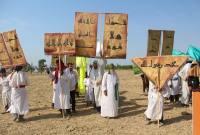 بازسازی واقعه غدیر در شهرستان میاندورود