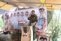چهارمین یادواره شهدا دهستان کوهدشت میاندورود در روستای موسیکلا برگزار شد