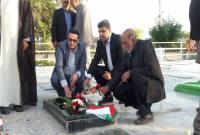 دیدار مدیرکل ورزش و جوانان مازندران با پیشکسوتان و خانواده شهید ورزشکار میاندورود