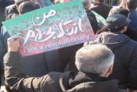 راهپیمایی مردم میاندورود در محکومیت اغتشاشات اخیر و آشوبگران