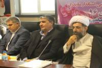 حضور استاندار مازندران در جلسه شورای اداری میاندورود و برگزاری ملاقات مردمی