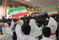 مراسم بزرگداشت سالروز ورود امام خمینی به کشور در فرودگاه دشتناز