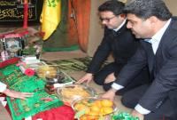 دیدار مدیرکل ورزش مازندران با خانواده شهید مدافع حرم و بازدید از پروژههای ورزشی میاندورود