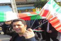 حضور پرشور مردم میاندورود در راهپیمایی 22 بهمن