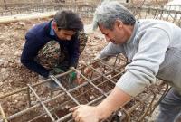 بازسازی مناطق زلزلهزده کرمانشاه توسط گروه جهادی بسیج سازندگی میاندورود