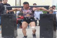 مسابقات قویترین مردان مازندران در میاندورود برگزار شد