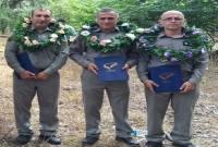 مراسم تجلیل از محیطبانان در پناهگاه حیاتوحش دشتناز برگزار شد