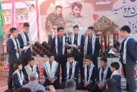نوزدهمین یادواره شهدای شهرستان میاندورود در جامخانه برگزار شد