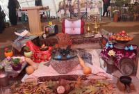 افتتاح نمایشگاه صنایع دستی و غذاهای محلی چله شو در سورک