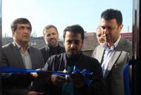 افتتاح سه خانه محروم و سه یادمان شهید در میاندورود