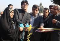 افتتاح گلخانه و کارگاه ساخت سنگ مصنوعی در شهر سورک با حضور نمایندگان مجلس