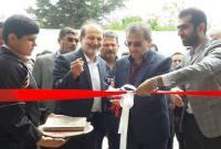افتتاح سالن ورزشی در روستای شهریارکنده
