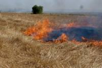 آتش زدن کاه و کلش خسارت به زمین زراعی و کشاورز است