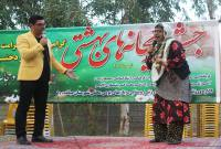 برگزاری جشن ریحانههای بهشتی در میاندورود
