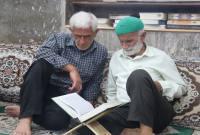 برگزاری مراسم قرائت دعای عرفه در مسجد جامع سورک