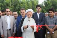 افتتاح چند طرح آبخیزداری، ورزشی، کشاورزی و آبرسانی در میاندورود