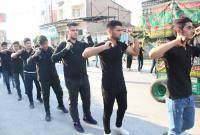 مراسم دستهروی عزاداران حسینی در سورک