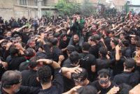 مراسم عزاداری تاسوعای حسینی در روستای اسرم میاندورود