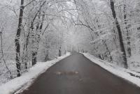 طبیعت برفی جنگل میاندورود و حضور مردم