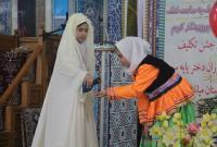 برگزاری مراسم جشن تکلیف دانش آموزان دختر پایه سوم میاندورود