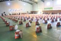 مرحله دوم رزمایش کمک مومنانه در میاندورود با توزیع 1540 بسته معیشتی برگزار شد