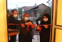 افتتاح یک واحد منزل مسکونی محرومین در میاندورود+ تصاویر