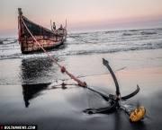 صید ماهی در دریای خزر+تصاویر