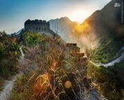 تصاویر دیدنی از دیوار بزرگ چین