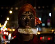 حاجی فیروز در خیابان ها(عکس)