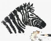 نقاشی فقط با تراشیدن مداد (عکس)