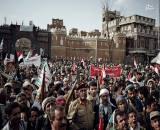 عکس/ خروش مردم یمن علیه آل سعود