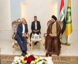 عکس/ دیدار وزیر امور خارجه با مقامات عراقی