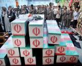 استقبال از 30 شهید غواص در مازندران