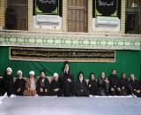 عکس/ اولین شب عزاداری ایام محرم در بیت رهبری
