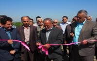 بهره برداری از طرح یکپارچه سازی 40 هکتار اراضی شالیزاری در سورک
