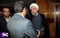 ناگفته هایی از یک گفتگوی خصوصی/ توصیه های احمدی نژاد به روحانی درباره لاریجانی ها