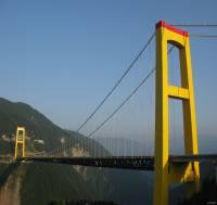 ساخت عجیب و غریب پل در چین +عکس